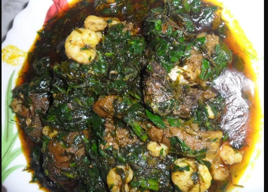 Best Way To Cook Vegetable Soup With Okasi And Water leaf
