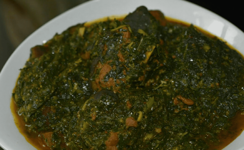 Afang Soup and Waterleaf