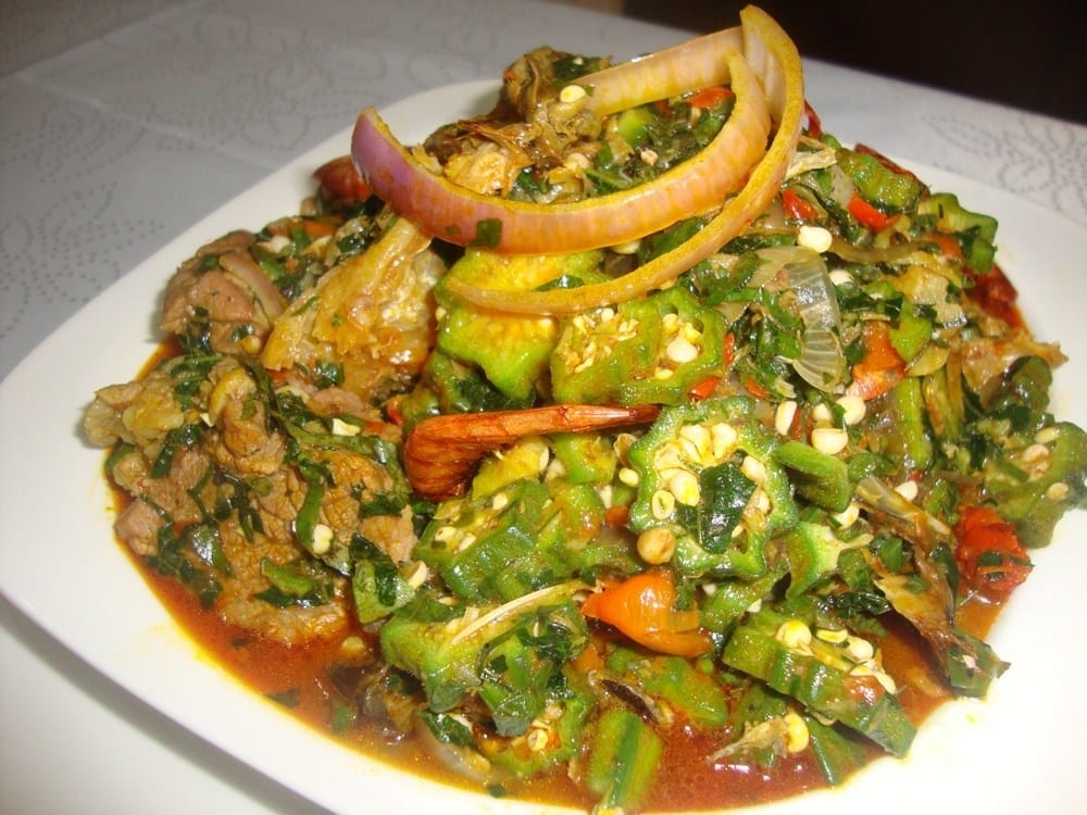 How to Cook Easy Okro soup