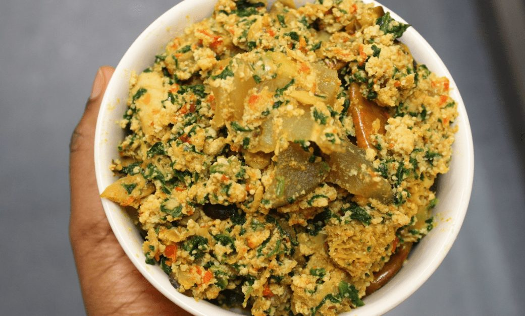 How to Cook Egusi soup melon soup without oil