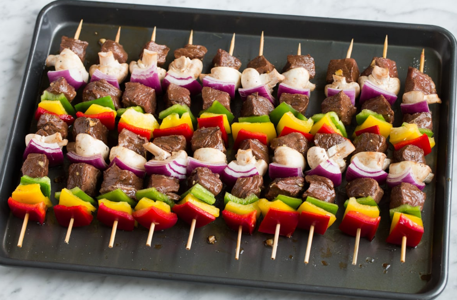 How to Make Easy Beef Skewers Recipe Stick Meat