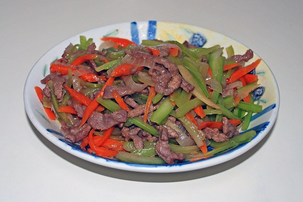 Sauteed Beef Pepper